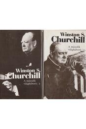A második világháború I-II. - CHURCHILL, WINSTON - Régikönyvek