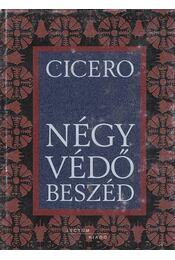 Négy védőbeszéd - Cicero, Nótári Tamás - Régikönyvek