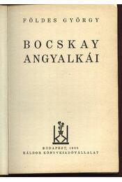 Bocskai angyalkái - Földes György - Régikönyvek