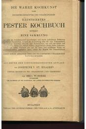 Budapester Kochbuch - Josephine V. St. Hilaire - Régikönyvek