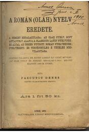 A román (oláh) nyelv eredete - Pascutiu Dénes - Régikönyvek