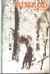 Nimród 1980. évfolyam (teljes) - számonként - Csekó Sándor - Régikönyvek