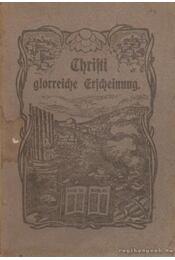 Christi glorreiche Erscheinung - Conradi L. R. - Régikönyvek