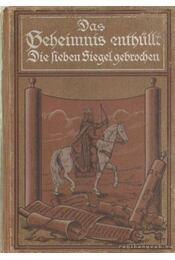 Das Geheimnis enthüllt - Conradi L. R. - Régikönyvek