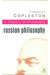 Russian Philosophy - Copleston, Frederick - Régikönyvek