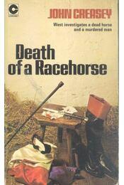 Death of A Racehorse - Creasey, John - Régikönyvek