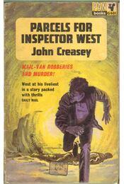 Parcels for Inspector West - Creasey, John - Régikönyvek