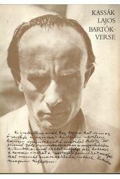 Kassák Lajos Bartók-verse - Csaplár Ferenc - Régikönyvek