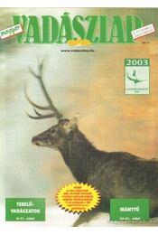 Magyar Vadászlap 2003/2 - Csekó Sándor - Régikönyvek