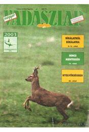 Magyar Vadászlap 2003/5 - Csekó Sándor - Régikönyvek