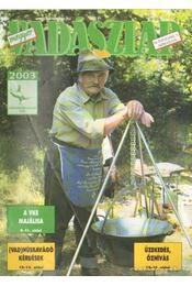 Magyar Vadászlap 2003/7 - Csekó Sándor - Régikönyvek