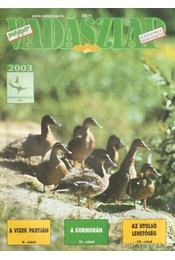 Magyar Vadászlap 2003/8 - Csekó Sándor - Régikönyvek