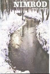 Nimród 1978. évfolyam (teljes) - számonként - Csekó Sándor - Régikönyvek