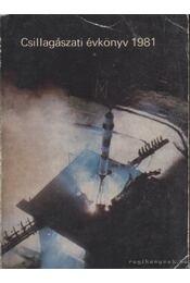 Csillagászati évkönyv 1981 - Régikönyvek
