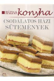 Csodálatos házi sütemények - Régikönyvek