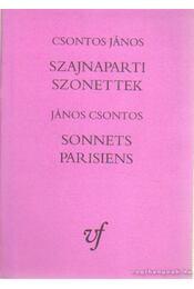 Szajnaparti szonettek - Csontos Gábor - Régikönyvek