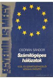 Számítógépes hálózatok - Csórián Sándor - Régikönyvek