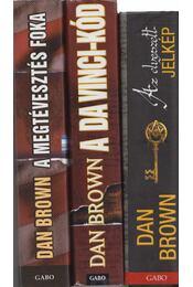 3 db Dan Brown regény - Dan Brown - Régikönyvek