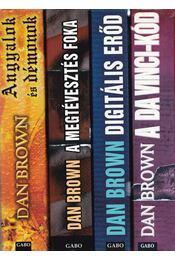 4 db Dan Brown regény - Dan Brown - Régikönyvek