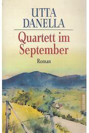 Quartett im September - Danella, Utta - Régikönyvek