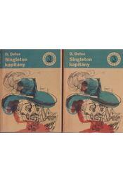 Singleton kapitány I-II. kötet - Daniel Defoe - Régikönyvek