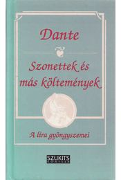 Szonettek és más költemények - Dante, Hunyadi Csaba - Régikönyvek