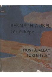 Bernáth Aurél két falképe (dedikált) - Dávid Katalin - Régikönyvek