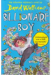 Billionaire Boy - David Walliams - Régikönyvek