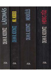 4 db Dean R. Koontz regény - Dean R. Koontz - Régikönyvek