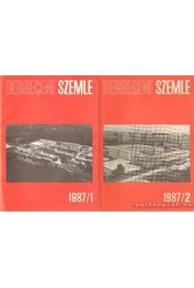 Debreceni szemle 1987/1-2. szám - Régikönyvek