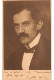 Dedikált Babits Mihály fénykép (bekeretezett) - Régikönyvek