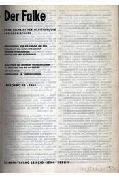 Der Falke 1985. (A sólyom) - Régikönyvek