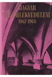 Magyar Műemlékvédelem 1967-1968 - Dercsényi Dezső, Entz Géza, Havassy Pál, Merényi Ferenc - Régikönyvek