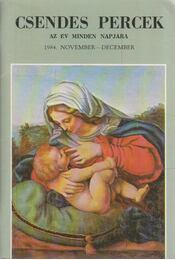 Csendes percek 1984. november-december - Dienes László (szerk.) - Régikönyvek
