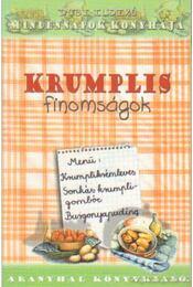 Krumplis finomságok - Dobi Ildikó - Régikönyvek