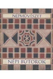 Népi bútorok - Domanovszky György - Régikönyvek