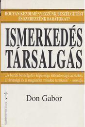 Ismerkedés - társalgás - Don Gábor - Régikönyvek