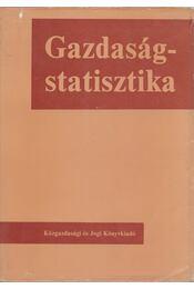 Gazdaságstatisztika - Dr. Benedecki Jánosné, Dr. Drechsler László, Dr. Gyenge Erzsébet, Dr. Kupcsik József - Régikönyvek