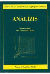 Analízis - Dr. Csernyák László - Régikönyvek