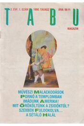 TABU Magazin 1990. tavasz 2. évf. 1. szám - Dr. Erőss László - Régikönyvek
