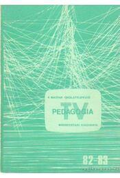 TV pedagógia - Dr. Koczka János - Régikönyvek