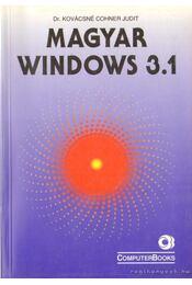 Magyar Windows 3.1 - DR.KOVÁCSNÉ COHNER JUDIT - Régikönyvek