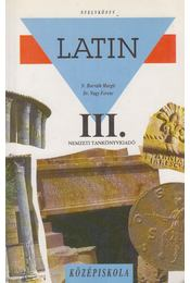 Latin nyelvkönyv III. - Dr. Nagy Ferenc, N. HORVÁTH MARGIT - Régikönyvek