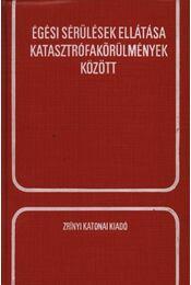 Égési sérülések ellátása katasztrófakörülmények között - Dr. Novák János - Régikönyvek