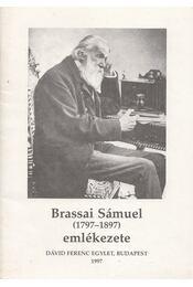 Brassai Sámuel (1797-1897) emlékezete - dr. Nyiredy Szabolcs - Régikönyvek