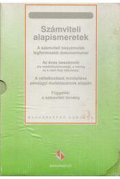 Számviteli alapismeretek - Dr. Psenák Angéla, Friedrich István, Székács Péterné - Régikönyvek