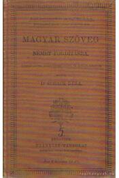 Magyar szöveg német fordításra - Dr. Schack Béla - Régikönyvek