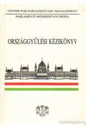 Országgyűlési kézikönyv 1992. - Dr. Soltész István - Régikönyvek