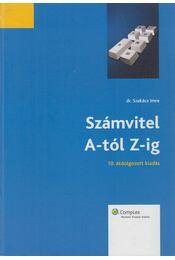 Számvitel A-tól Z-ig - Dr. Szakács Imre - Régikönyvek