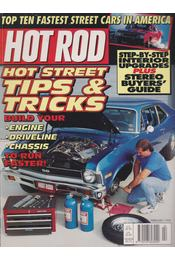 Hot Rod 1995. February - Drew Hardin - Régikönyvek